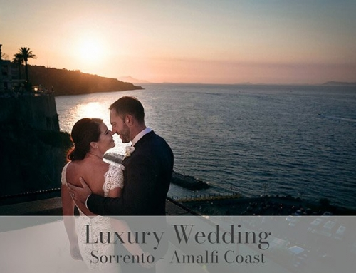 Luxury destination wedding in Sorrento