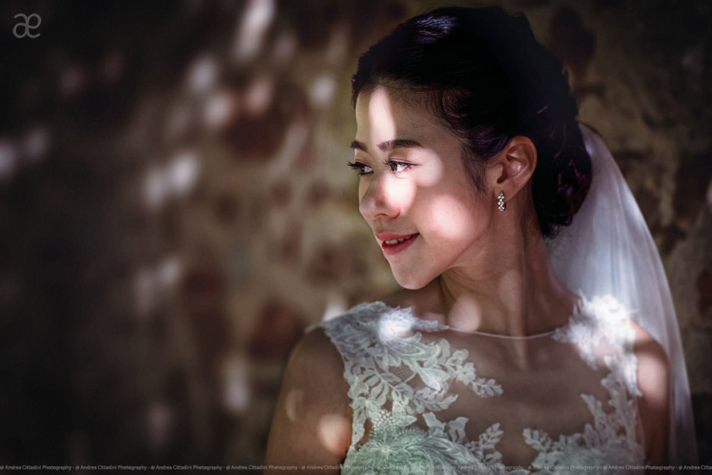 Creative Bride's portrait