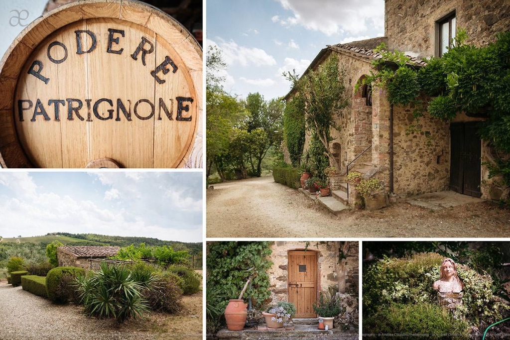 Podere Patrignone countryside wedding venue