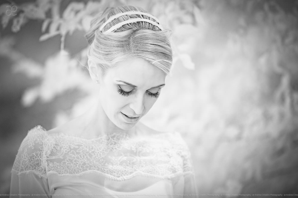 Infrared wedding portraits