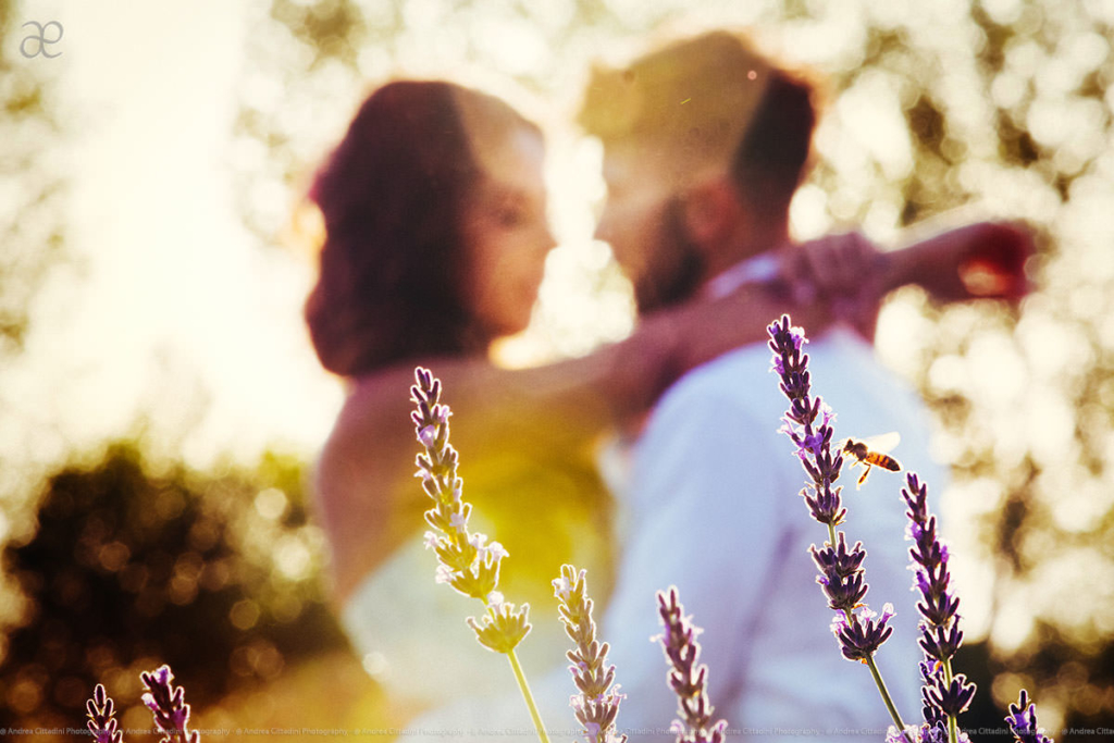 Creative couple portrait