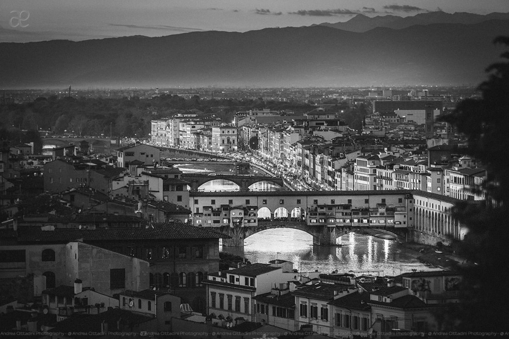 Florence in Black and white