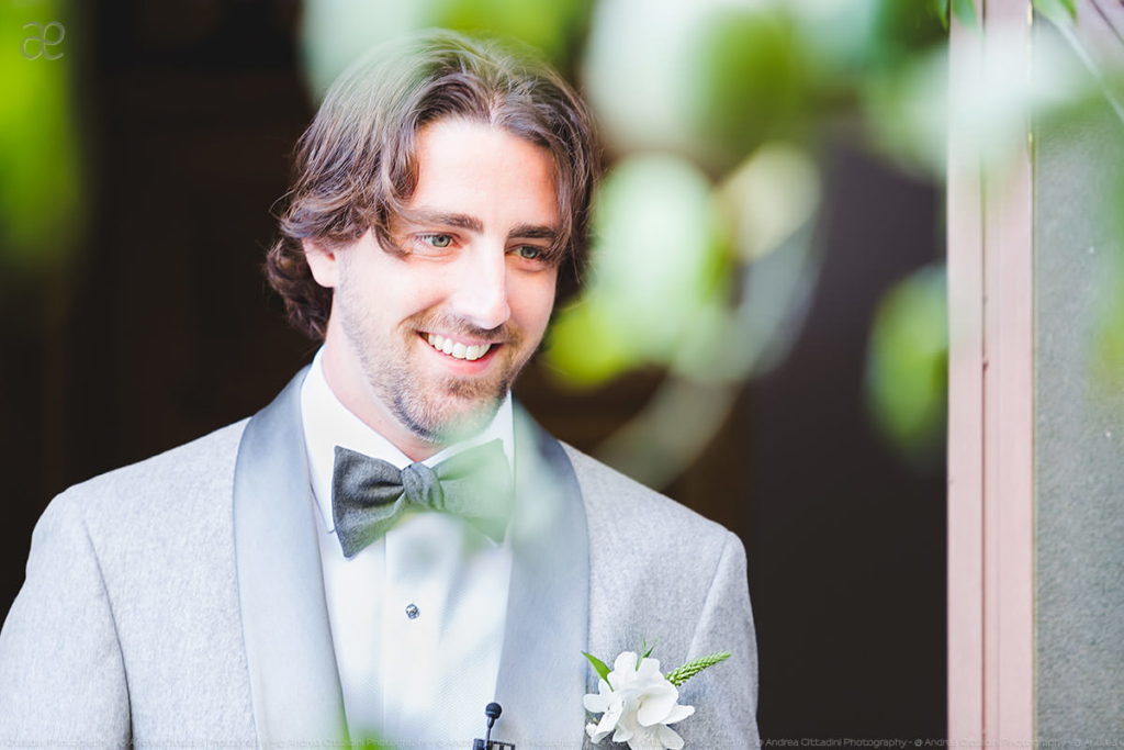 a groom's portrait