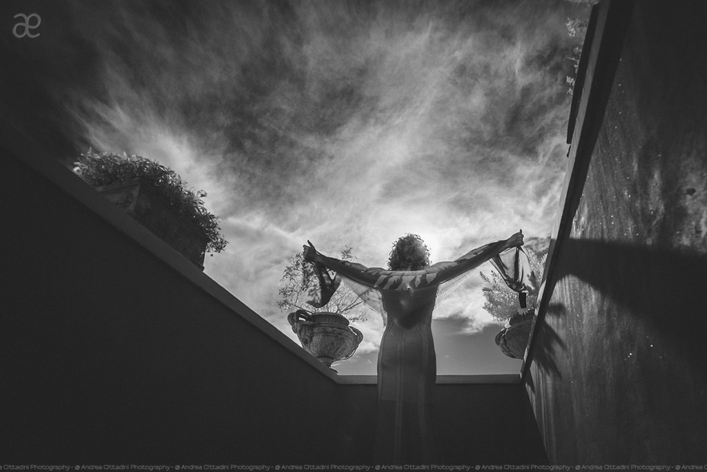 infrared wedding photographer in Positano