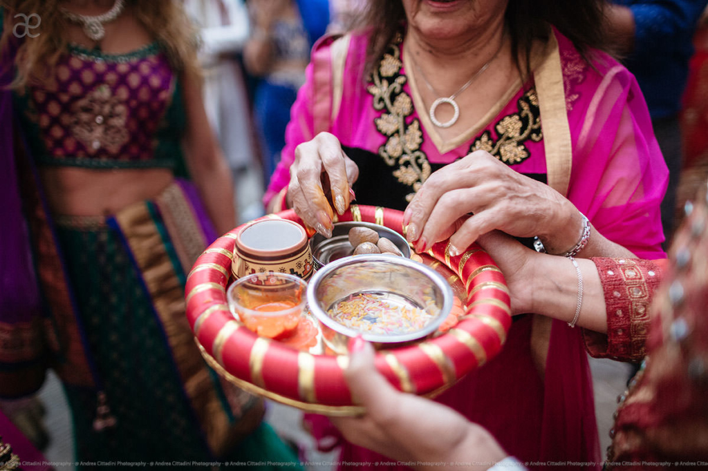 Traditional indian ceremony