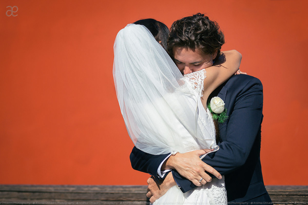 Wedding photo in Burano