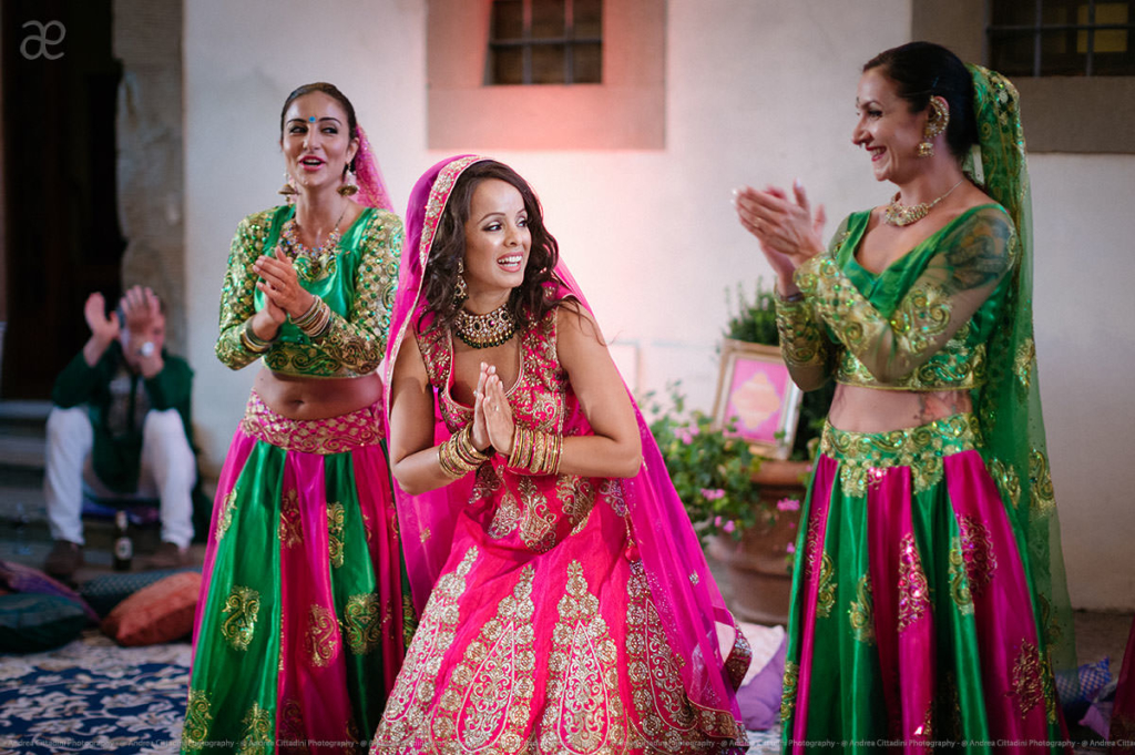 Indian wedding in Castello di Vicchiomaggio