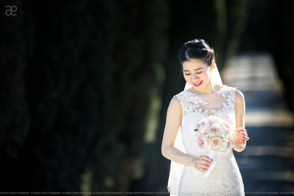 International wedding photographer in Tuscany