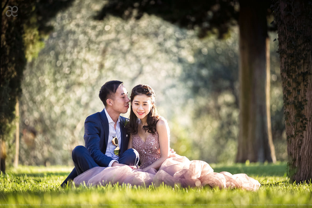 Portrait wedding photographer