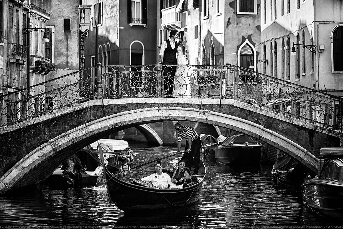Great photographer in Venice