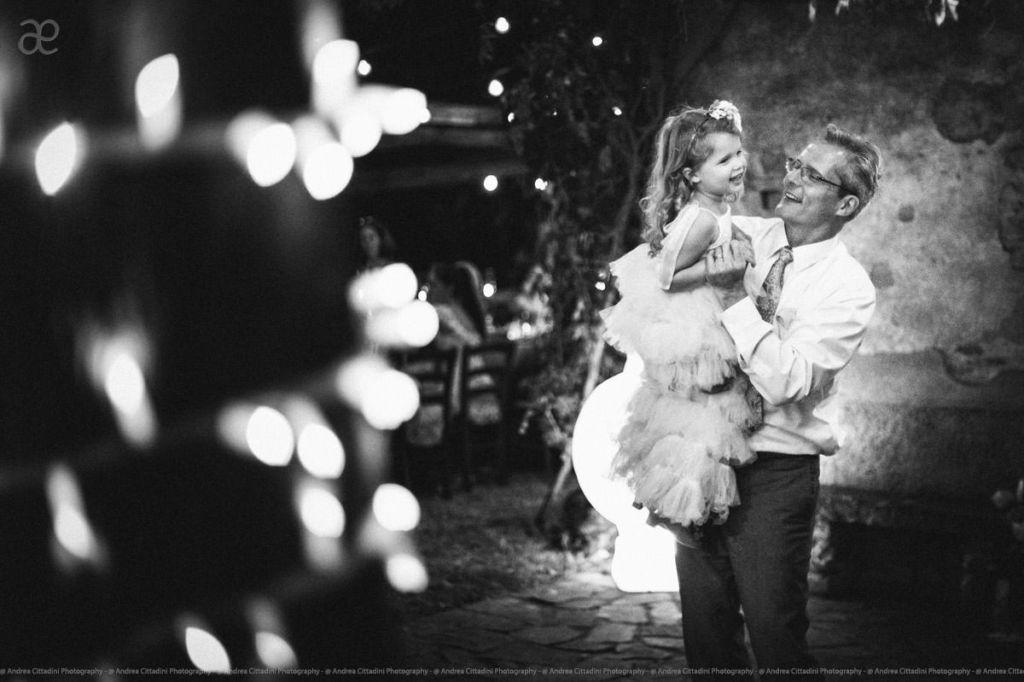 first dance with the flower girl
