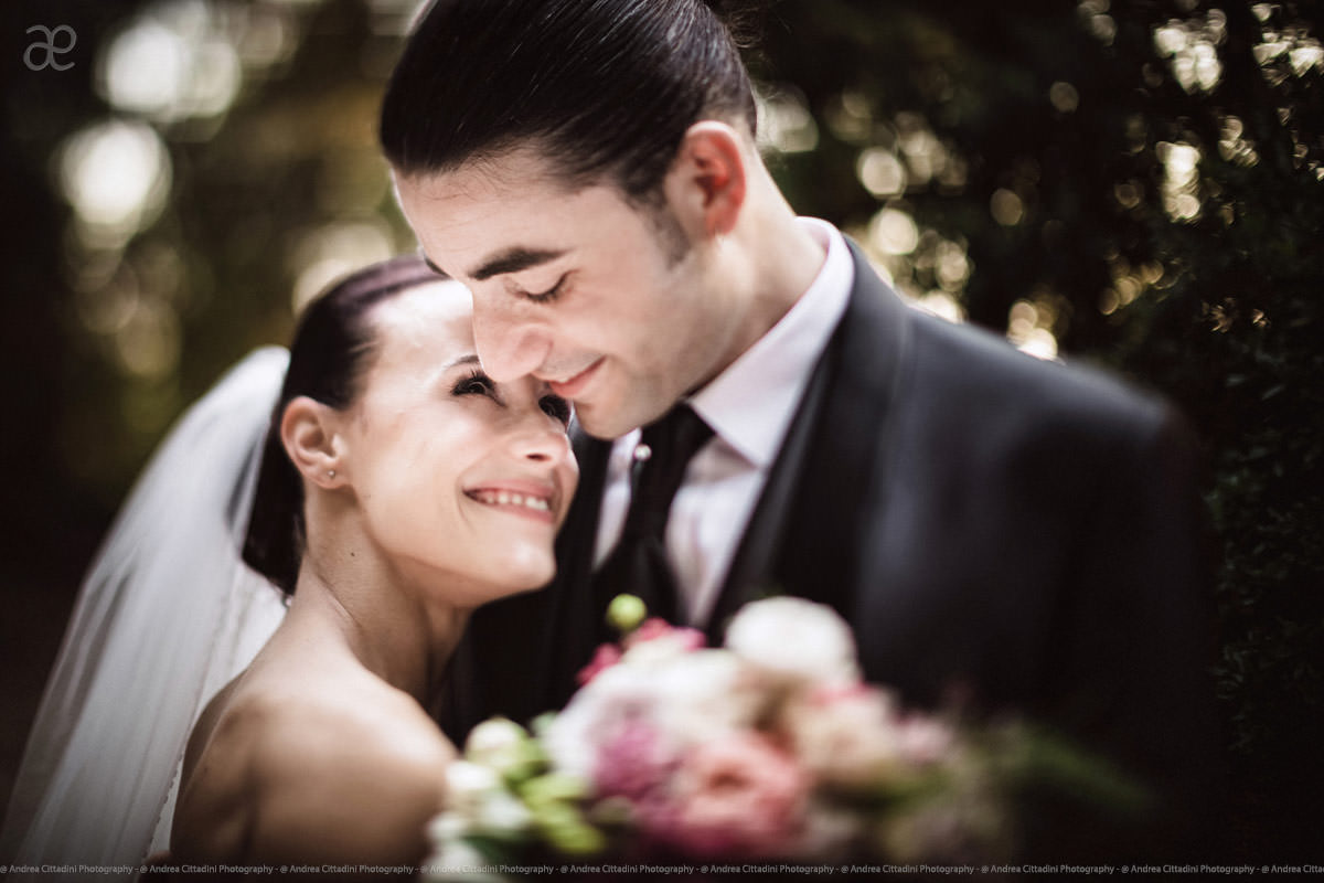 Emotional wedding in Umbria