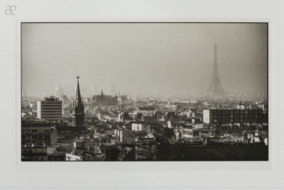 Platinum Palladium Print Paris