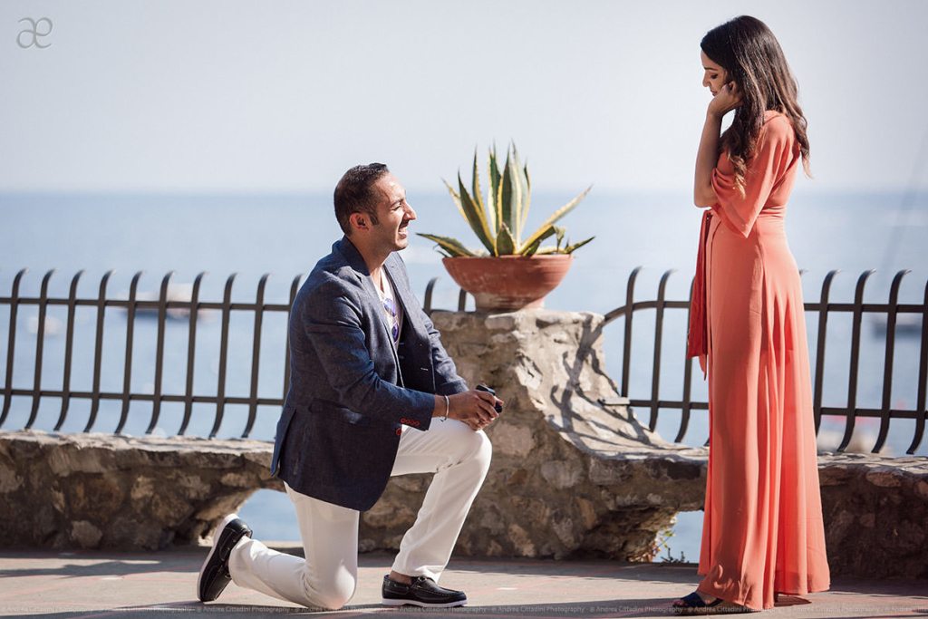 Surprise proposal Positano