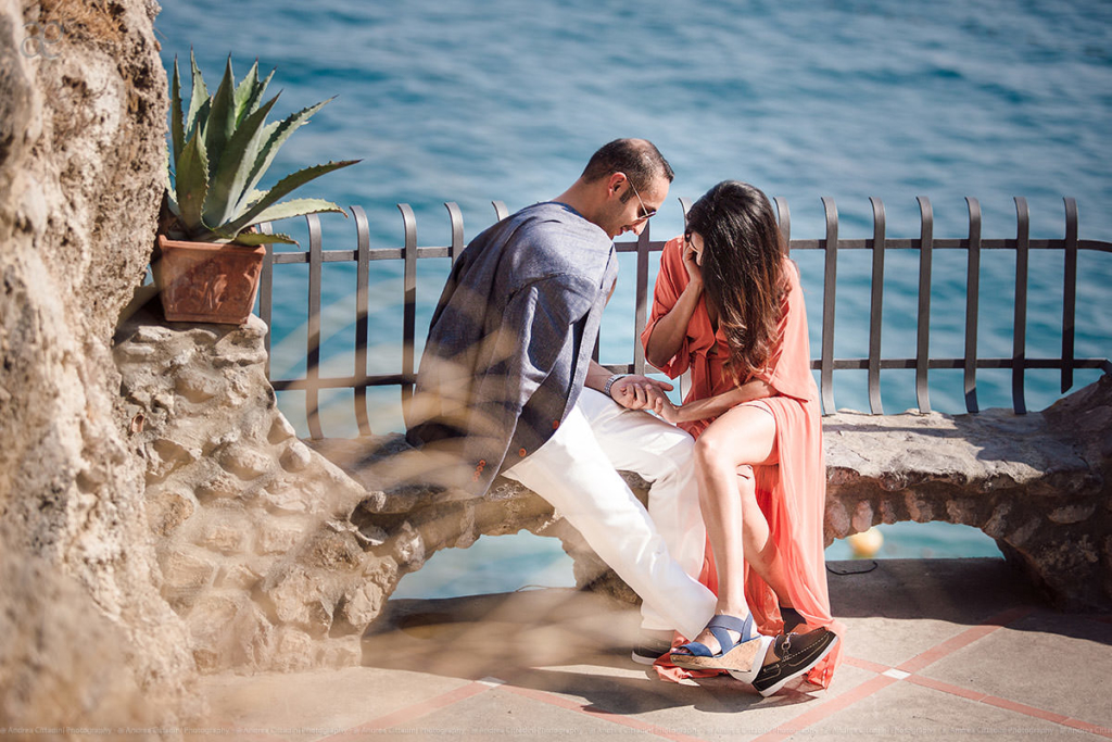 Engagement photographer Amalfi Coast
