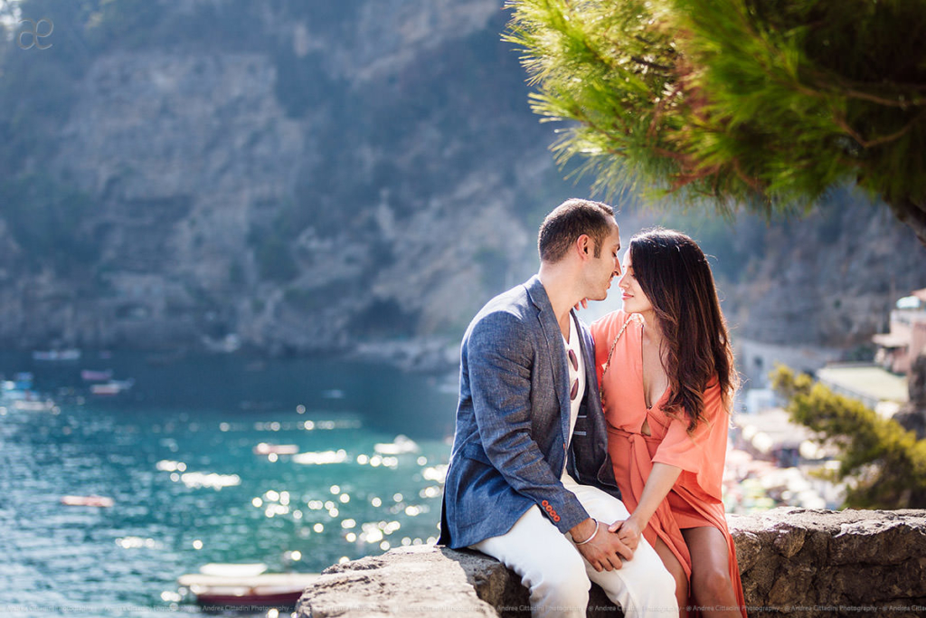 Engagement photographer Positano