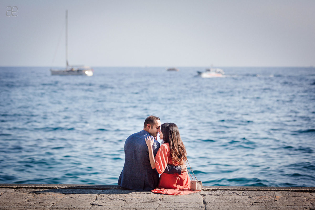 Ravello engagement photographer