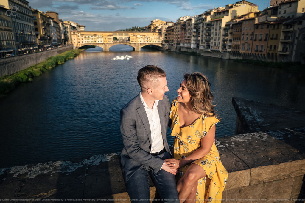 Engagement in Florence