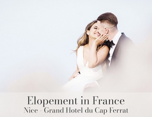 Elopement at Grand Hotel du Cap Ferrat