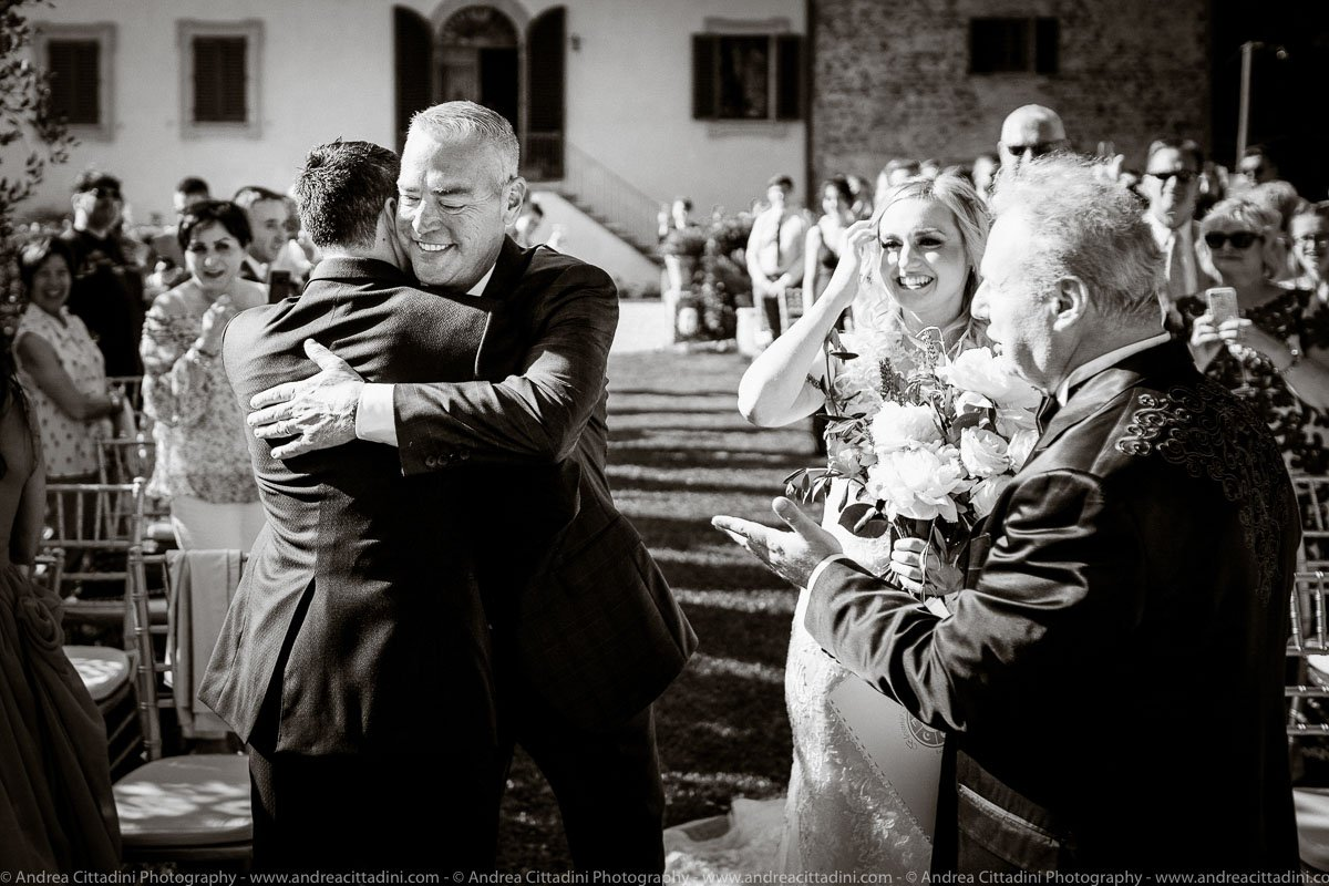 Bilingual Ceremony in Tuscany