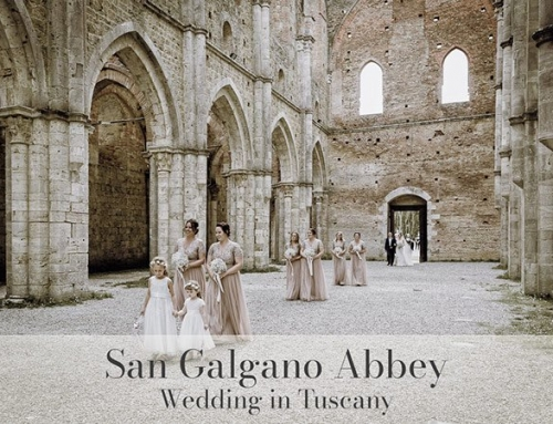 San Galgano Abbey Wedding